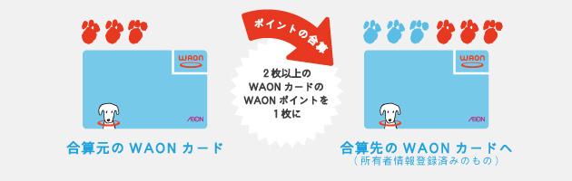 イオンカード waon 移行